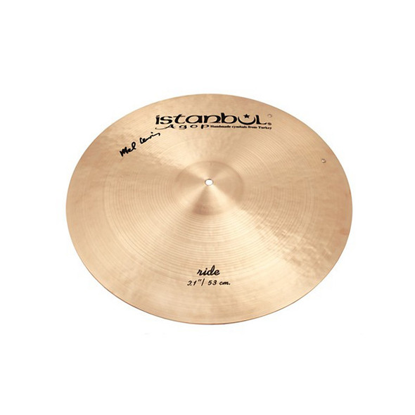 Istanbul 21 Inch Mel Lewis Ride Cymbal