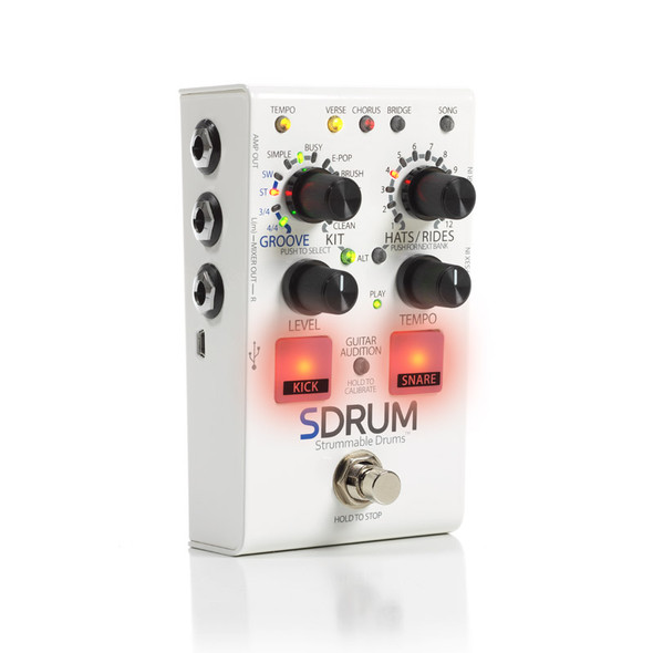 DigiTech SDRUM Drum Machine for Guitarists