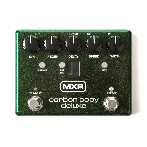 MXR M292 Carbon Copy Deluxe Analogue Delay Pedal