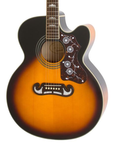 Epiphone EJ-200CE Electro-Acoustic Guitar, Vintage Sunburst