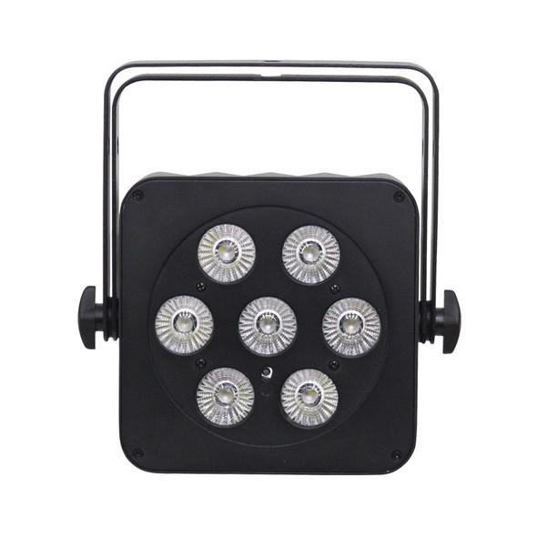LEDJ Slimline 7Q5 RGBA LED Par, Black Casing