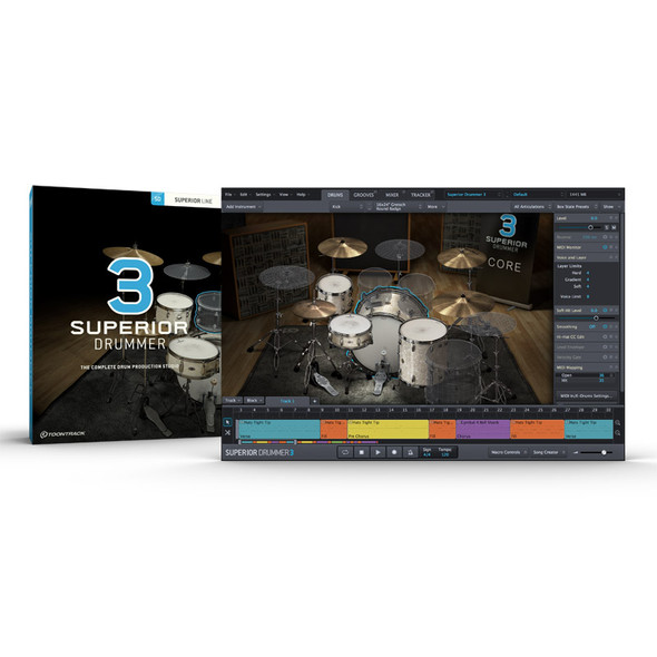 Toontrack Superior Drummer 3 Sound Library SSD