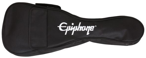 Epiphone Les Paul Electro Acoustic Ukulele, Vintage Sunburst, Pickup, GigBag