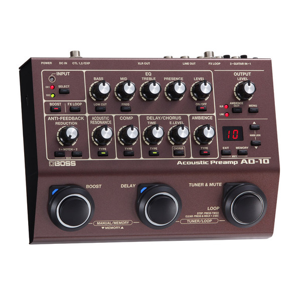 Boss AD-10 Acoustic Preamp Pedal