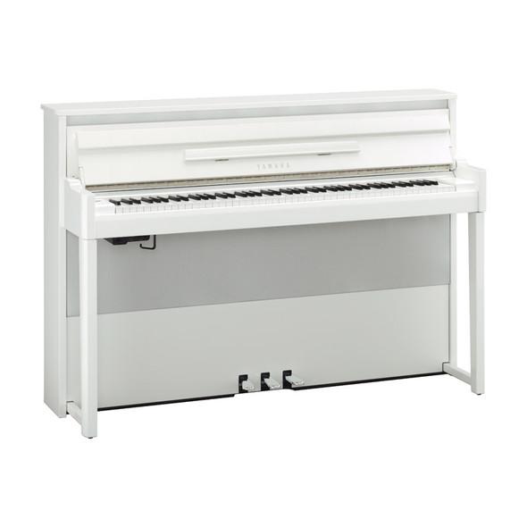 Yamaha AvantGrand NU1X Digital Hybrid Piano, Polished White