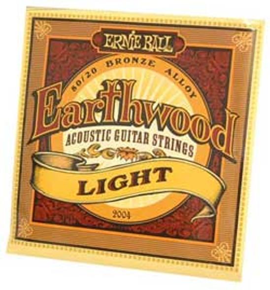 Ernie Ball Earthwood Light Acoustic Guitar Strings 11-52