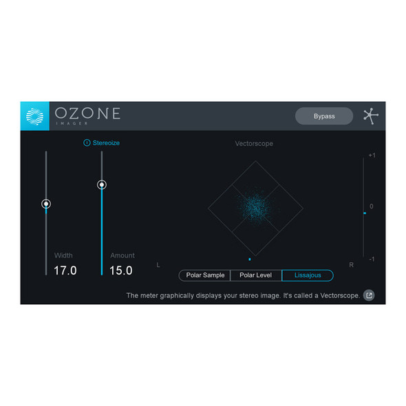 iZotope Imager Stereo Imaging Plug-In (Download)