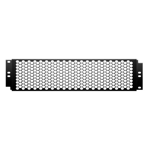 Adam Hall 87446 19 inch Cover with Punched Hole Front, 2U, Coarse