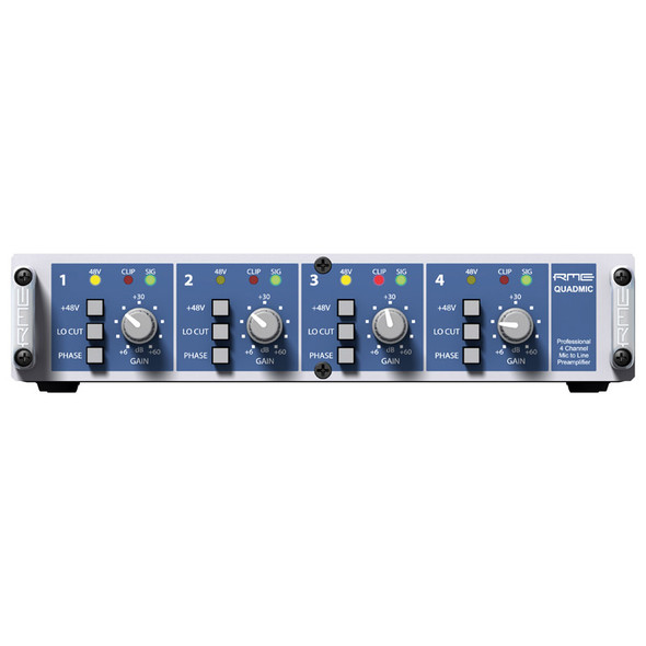 RME Quadmic II 4 Channel Microphone Preamp