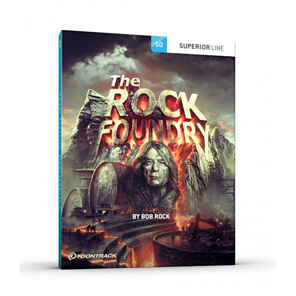Toontrack SDX: The Rock Foundry (Download, for Superior Drummer 3)