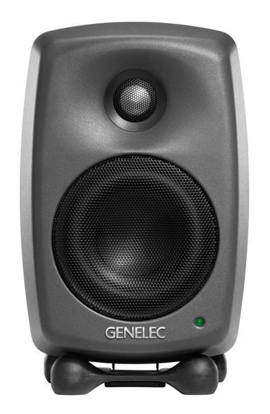 Genelec 8320A SAM Active Monitoring Bundle with GLM 3.0, Dark Grey