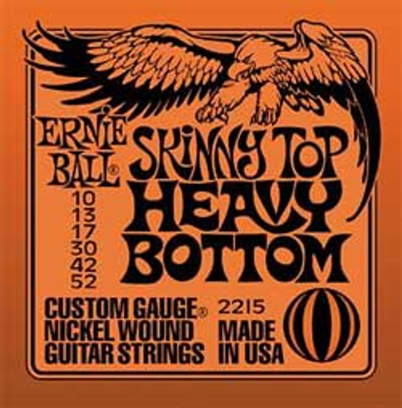 Ernie Ball Skinny Top Heavy Bottom Electric Guitar Strings 10-52