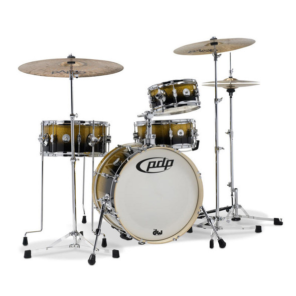 Pacific PDP New Yorker Daru Jones Signature Kit in Gold to Black Sparkle Fade