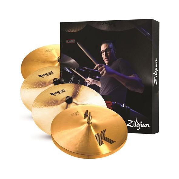 Zildjian KP100 K Zildjian Cymbal Pack with BONUS 17 Inch Crash and Cymbal Bag