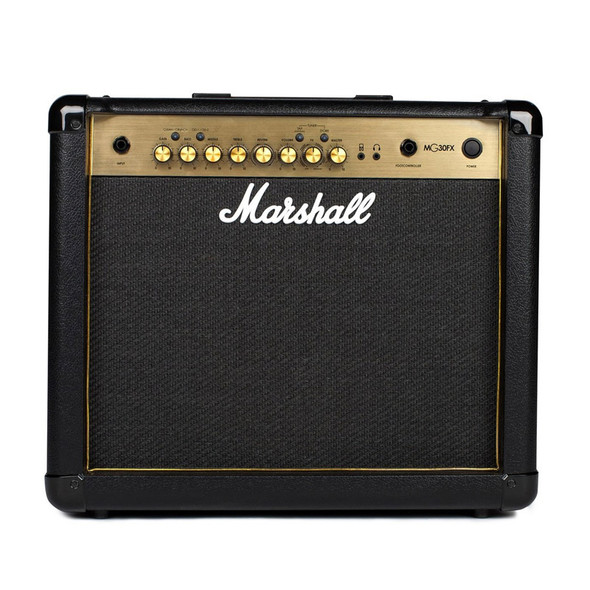 Marshall MG30GFX 30W Guitar Combo with FX, Gold