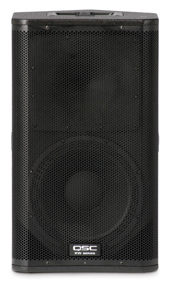 QSC KW122 12 inch Active 2 Way PA Speaker with Cover