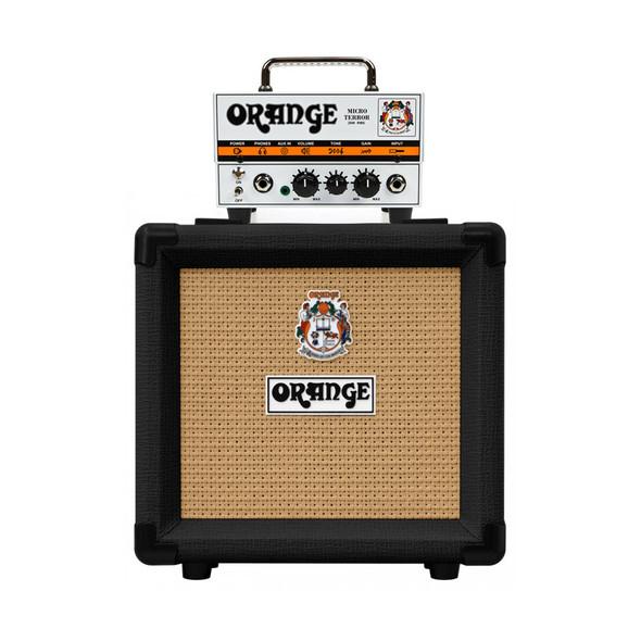 Orange Micro Terror 20 watt Amplifier Head with Black PPC108 Cabinet