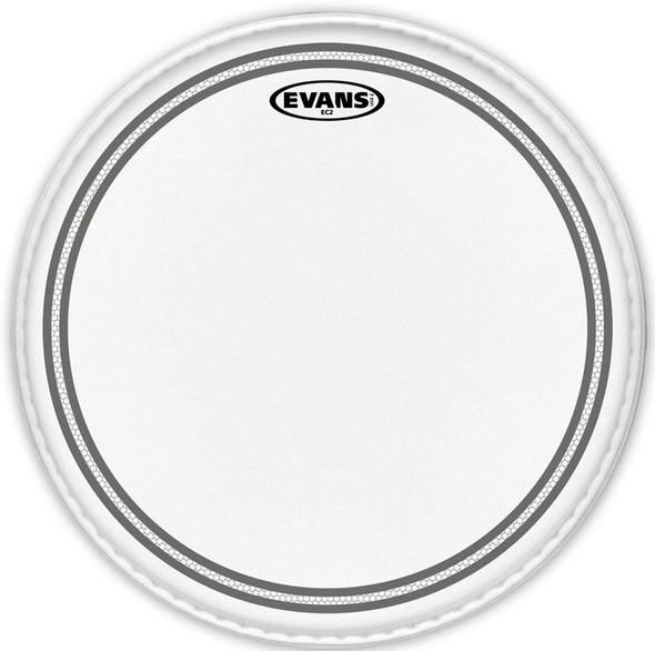 Evans B10EC2S 10 Inch EC2 Coated Drum Head with sound shaping technology
