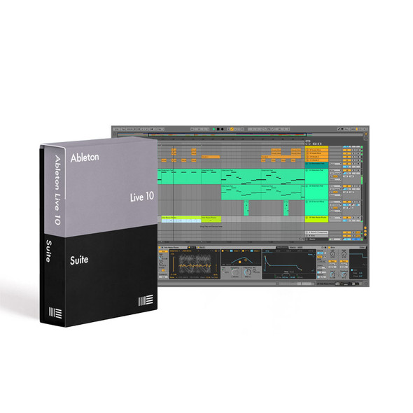 Ableton Live 10 Suite Upgrade from Live 10 Standard, Download