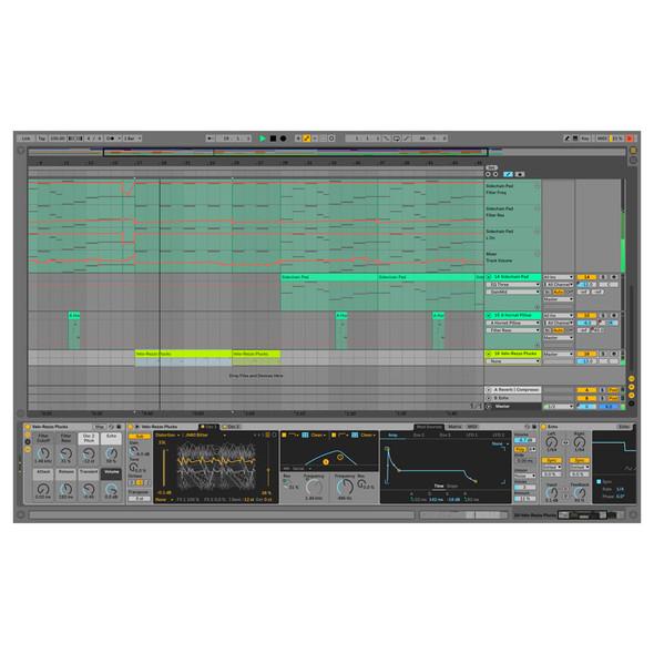 Ableton Live 10 Suite Upgrade from Live 10 Standard, Download