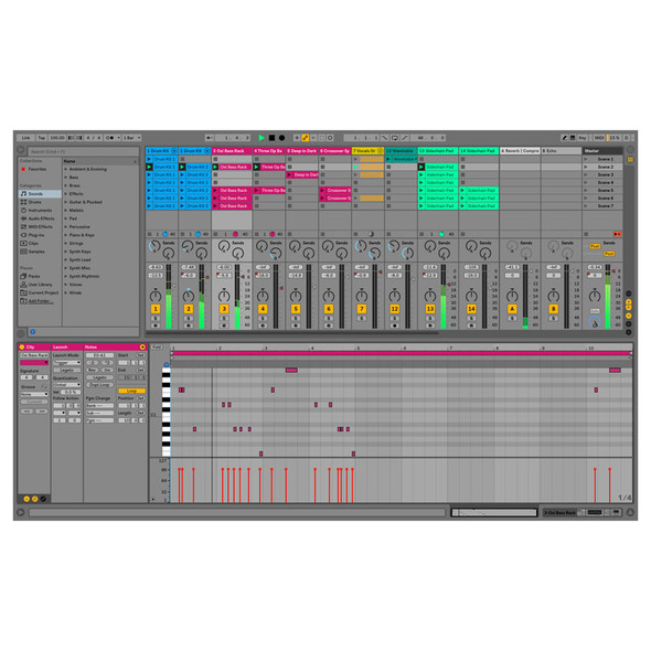 Ableton Live 10 Standard Upgrade from Live 1-9 Standard, Download