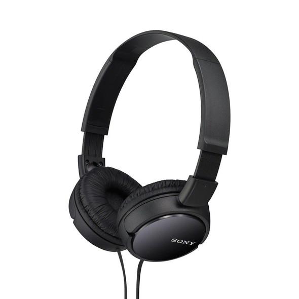Sony MDR-ZX110 Overhead Headphones, Black