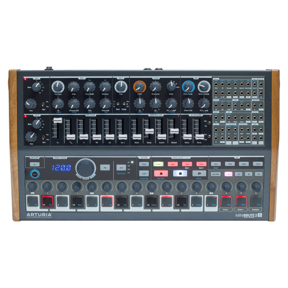 Arturia MiniBrute 2S Semi-Modular Analogue Synth and Sequencer