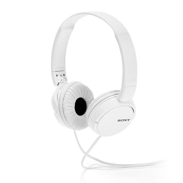 Sony MDR-ZX110 Overhead Headphones, White