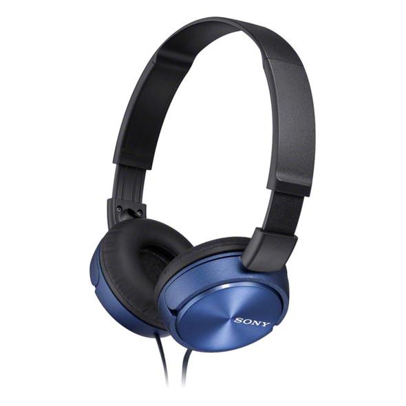 Sony MDR-ZX310 Overhead Headphones, Blue