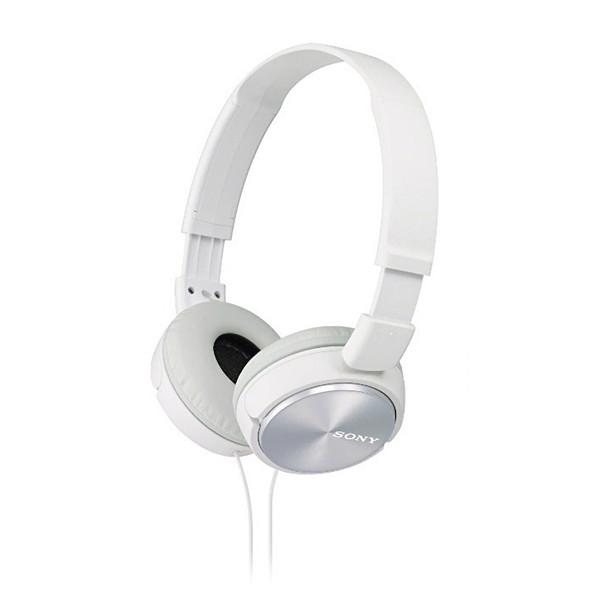 Sony MDR-ZX310 Overhead Headphones, White