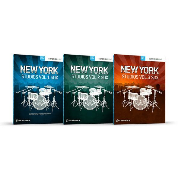 Toontrack SDX New York Studios BUNDLE (Download)