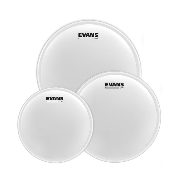 Evans ETP-UV1-R UV1 Drum Head Pack, Rock