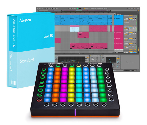 Ableton Live 10 Standard with Launchpad PRO Bundle