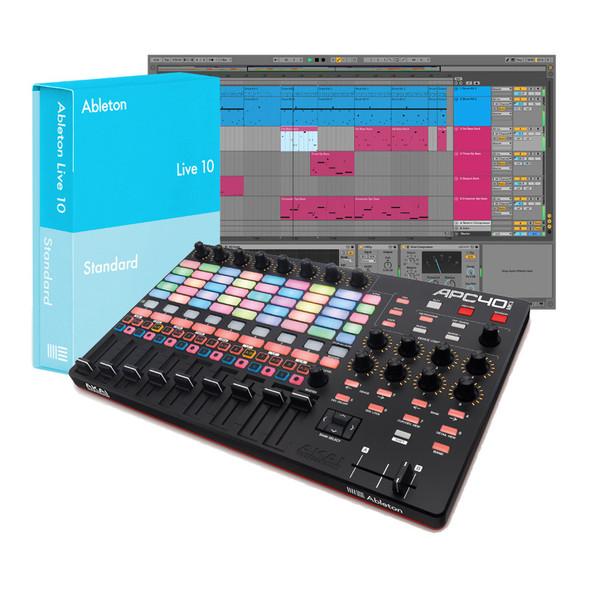 Ableton Live 10 Standard with Akai APC40 MKII Bundle