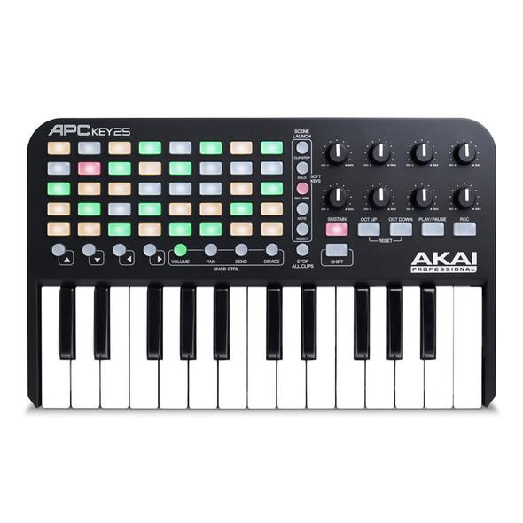 Ableton Live 10 Standard with Akai APC Key 25 Bundle