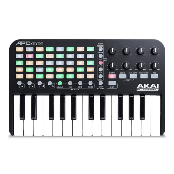 Ableton Live 10 Suite with Akai APC Key 25 Bundle