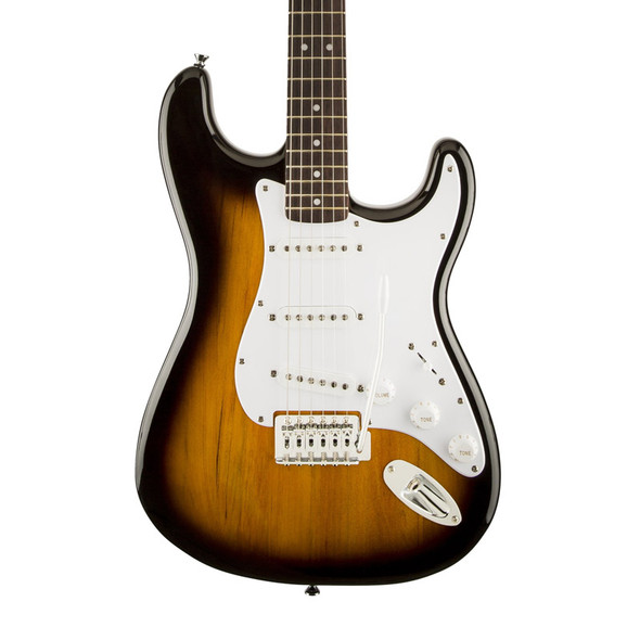 Fender Squier Bullet Stratocaster with Tremolo, Brown Sunburst