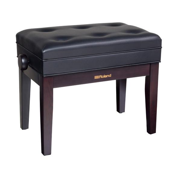 Roland RPB-400RW Piano Bench, Rosewood, Vinyl Seat