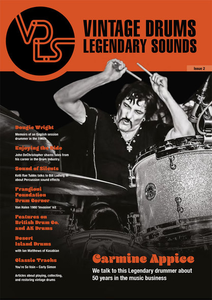 Vintage Drums, Legendary Sounds - Issue 2