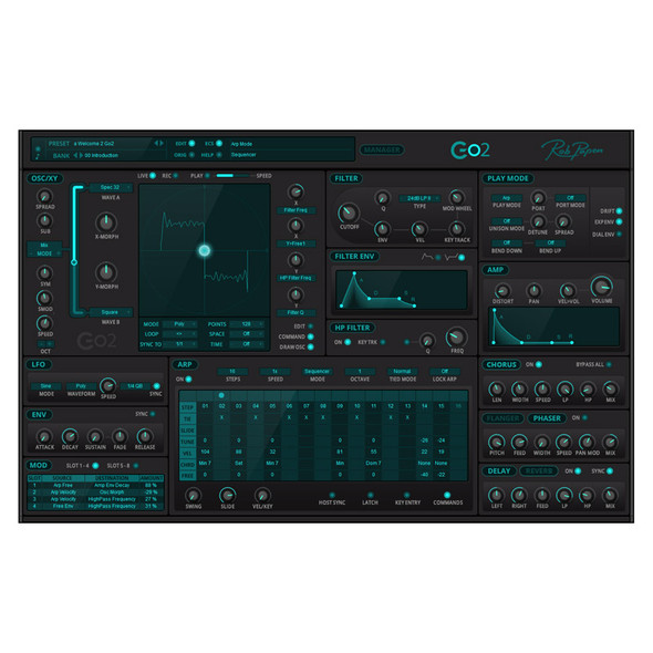 Rob Papen Go2 Virtual Synthesizer (Download)