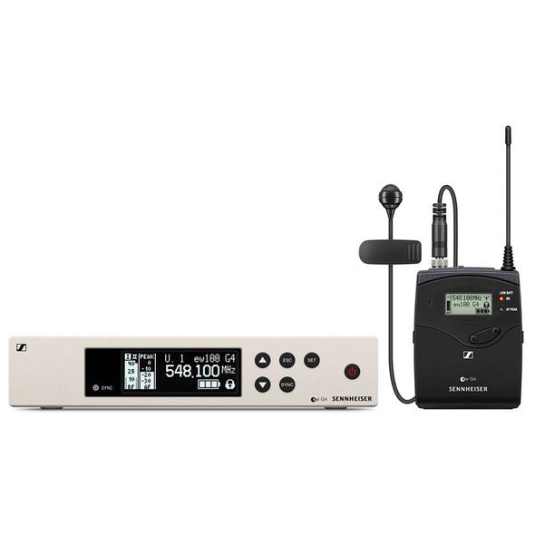 Sennheiser ew 100 G4-ME4-GB Cardioid Lavalier Wireless System, CH38