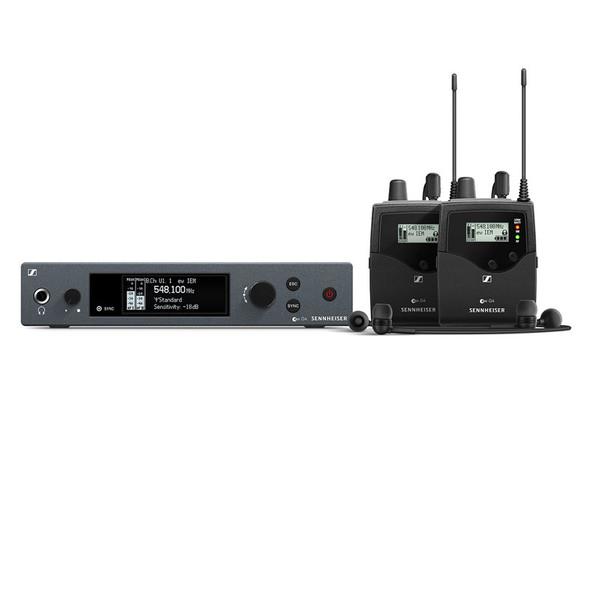 Sennheiser EW IEM G4-TWIN-GB Dual In Ear Wireless Monitor System, CH38