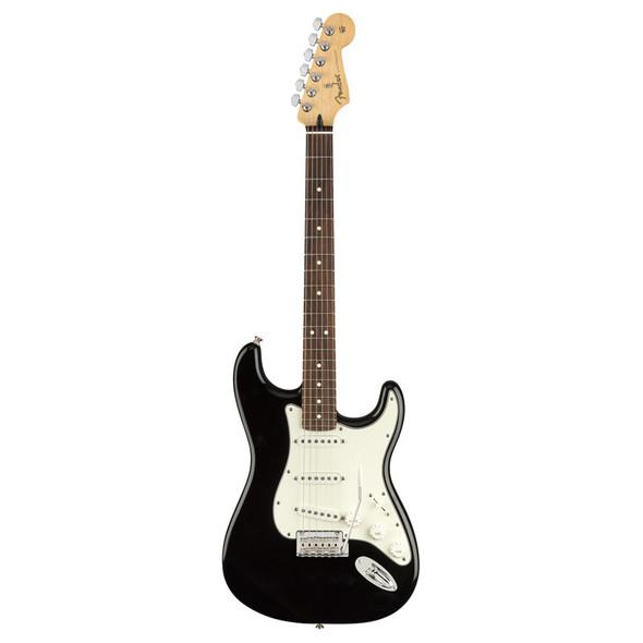 Fender Player Stratocaster Electric Guitar, Black, Pau Ferro