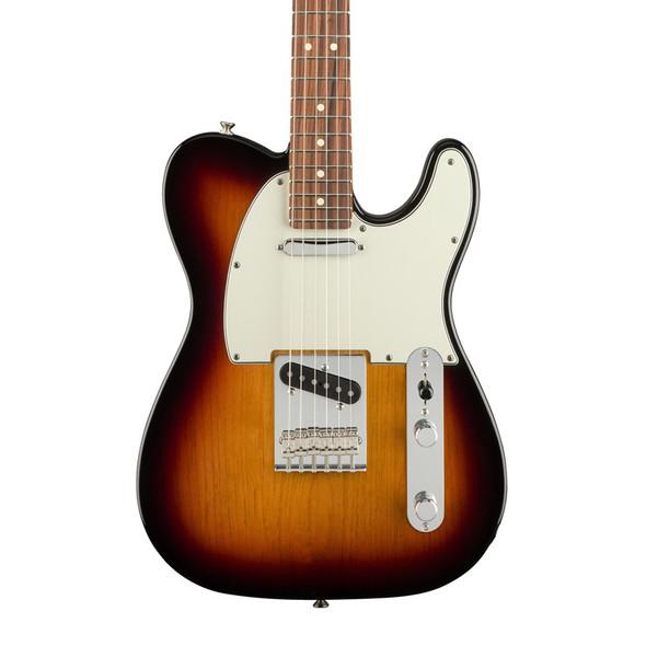 Fender Player Telecaster Electric Guitar, 3-Colour Sunburst, Pau Ferro