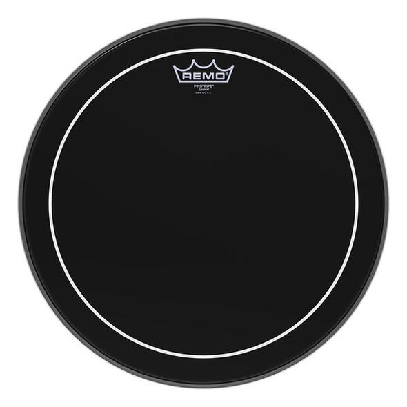 Remo ES-0612-PS 12 Inch Ebony Pinstripe Drumhead