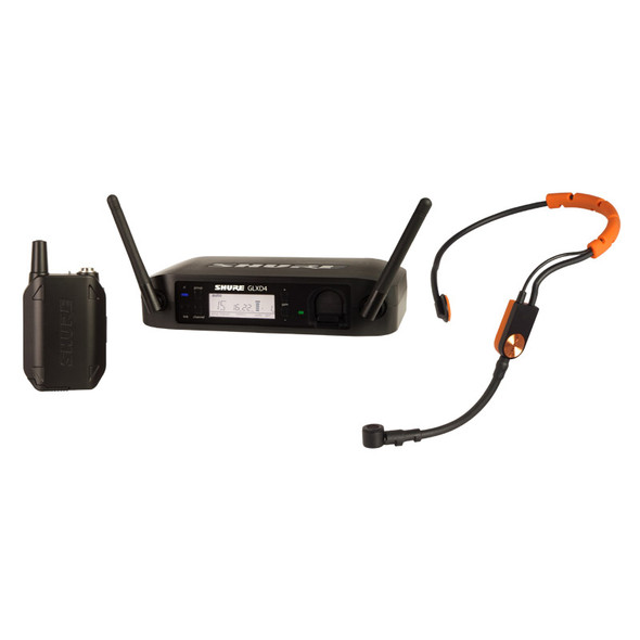 Shure GLXD14UK/SM31 Wireless System w/SM31FH Headset Mic