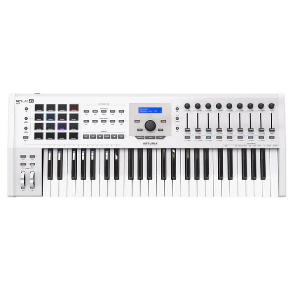 Arturia Keylab 49 MkII 49 Key Controller Keyboard, White