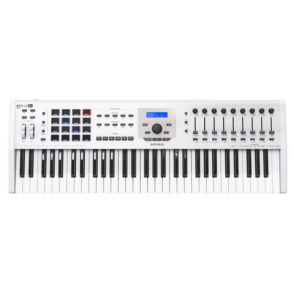 Arturia Keylab 61 MkII 61 Key Controller Keyboard, White