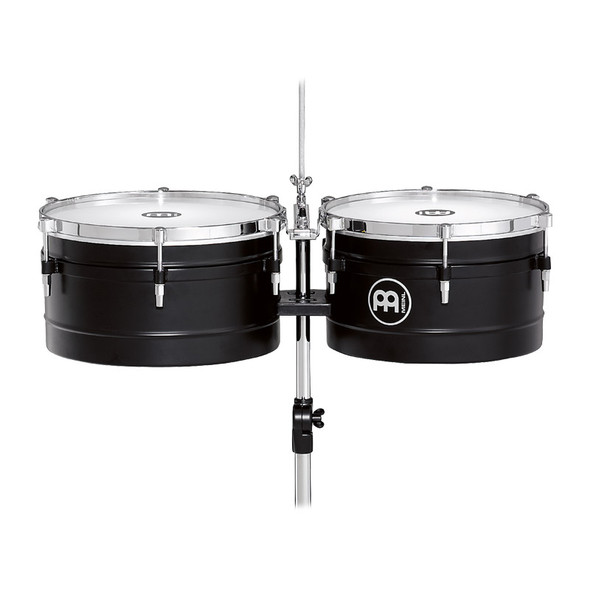 Meinl TI1BK Floatune Series 13 & 14 inch Timbales, Black