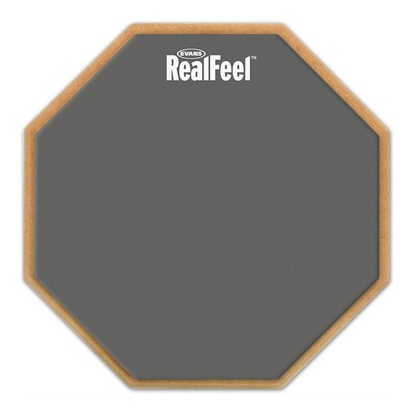 Evans RF12G 12 inch RealFeel Speed Pad Single Sided Practice Pad